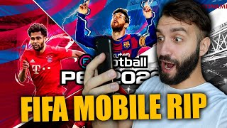 PES MOBILE 20 КРУЧЕ FIFA MOBILE!?