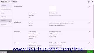 QuickBooks Online Plus 2017 Tutorial Customizing Payments Settings Intuit Training