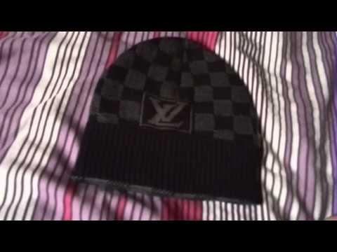 0adde08f5aa How To Spot Fake Louis Vuitton Beanie  High Quality  - YT