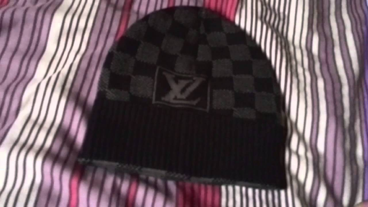 d91d8411dd5 How to Spot Fake Louis Vuitton Beanie  High Quality  - YouTube