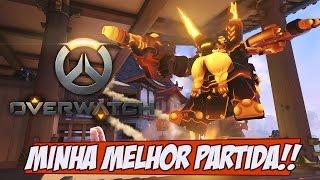 Overwatch - Minha MELHOR PARTIDA até agora