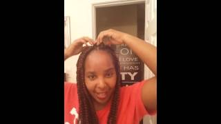 jumbo box braids    that moment you almost done