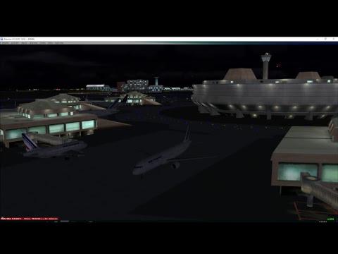 FSX Pmdg 777-300 From Beirut to Paris