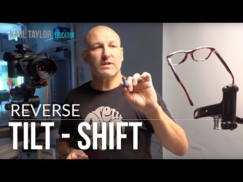 Product photography tutorial: How to photograph glasses using reverse tilt-shift thumbnail