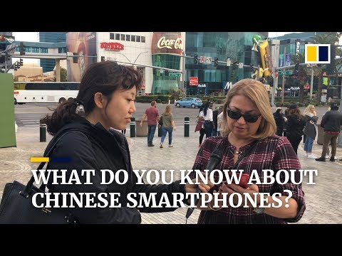 Are Chinese Smartphone Brands Widely Recognised In The US?