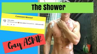 vuclip Male ASMR - The Shower (Gay Role Play for men)