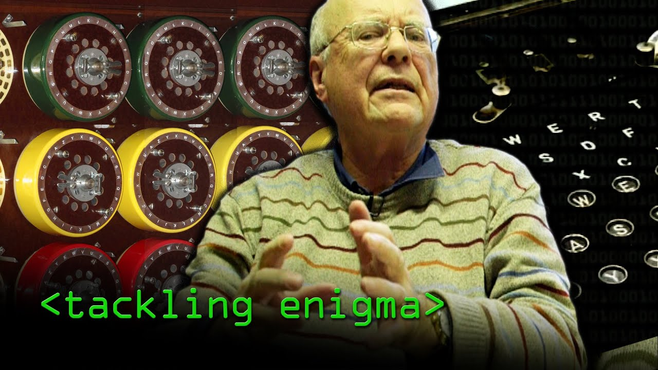 Tackling Enigma (Turing's Enigma Problem Part 2) - Computerphile