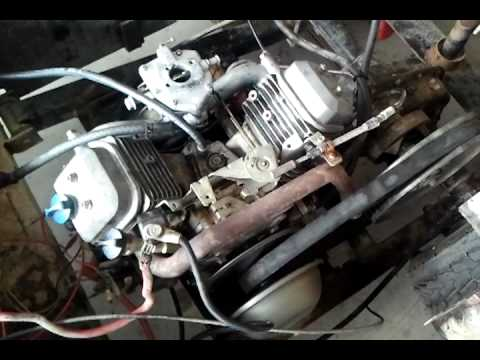 John Deere B Wiring Harness 16hp Briggs Amp Stratton Vtwin Vanguard With New Carb Youtube