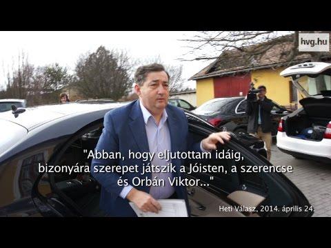 Mészáros Lőrinc abban bízik, magáért tisztelik, nem Orbán miatt