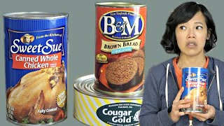 Download APOCALYPSE DINNER | WHOLE CHICKEN IN A CAN, canned BREAD,& Cougar Gold canned CHEESE Mp3 and Videos