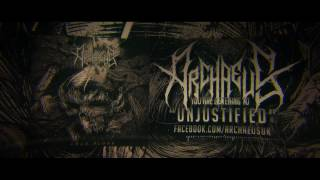Archaeus - Unjustified (Feat. Joel Mobey) - OFFICIAL LYRIC VIDEO