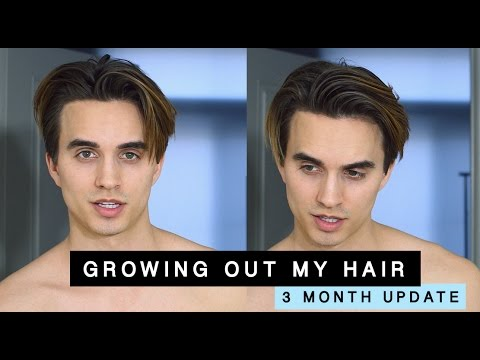 Growing Out My Hair from an Undercut (3 month update) + men\u0027s hair tips ,  YouTube