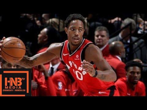 Washington Wizards vs Toronto Raptors Full Game Highlights / Week 5 / 2017 NBA Season