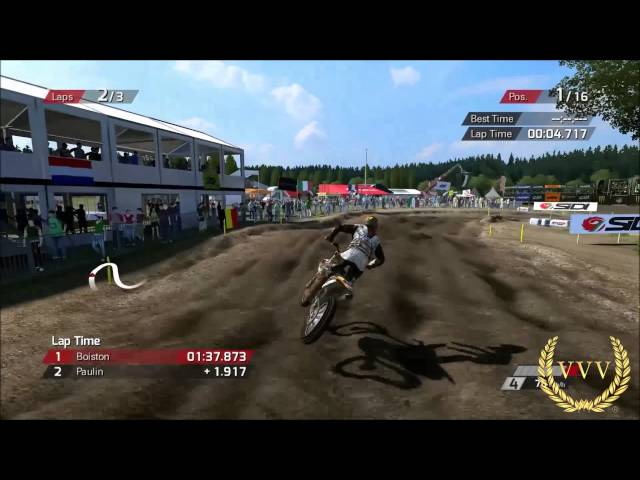 MXGP The Official Motocross Game - Belgium Bastogne Gameplay