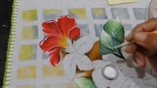 Roberto Ferreira – Pintura Hibisco Virado( Continuação)