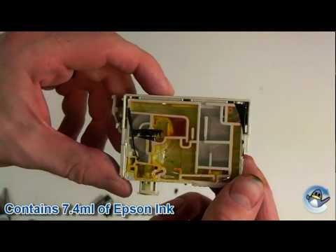 Inside Epson T0804 Yellow (Hummingbird) Ink Cartridge