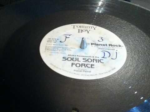 AFRIKA BAMBAATAA & SOUL SONIC FORCE- PLANET ROCK VOCAL  WAV