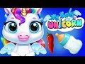 Fun Horse Unicorn Care - Baby Pony Funny Play Dress Up, Bath, Mini Games App For Kids