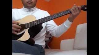 La Ley - Mentira (cover de guitarra acustica con acordes y requintos y solo) completa