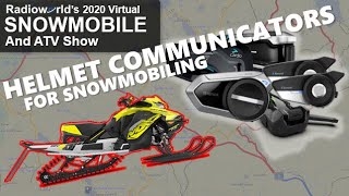 Best Helmet Communicator for Snowmobiling? - Radioworld's 2020 Virtual Snowmobile & ATV Show - P 3/5