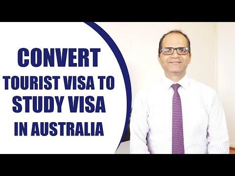 Australia Visitor Visa To Student Visa   Study In Australia   International   Study Abroad 2020
