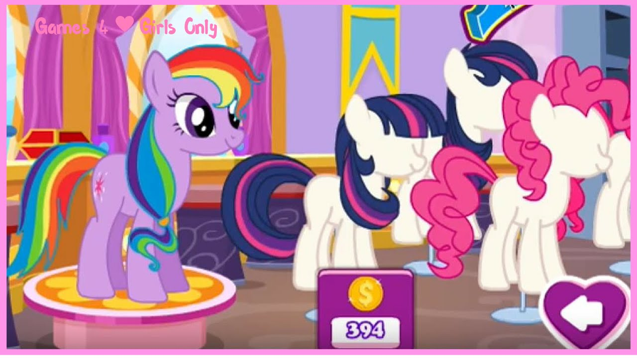 Rainbow Dash, Applejack, Pinkie Pie and Twilight Sparkle Shopping Time -  MLP Shopping Spree