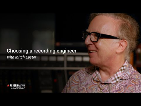 Recording an Album | Finding and Working with a Recording Engineer Part 1