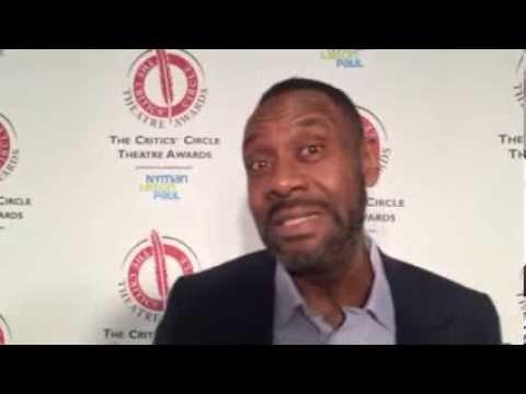 Lenny Henry at the 25th Critics' Circle Awards