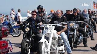Harley-Davidson Treffen auf Sylt