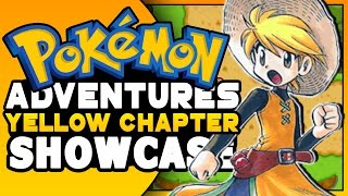 Pokemon ROM HACK SHOWCASE - Pokemon Adventures Yellow Chapter ( Fire Red Rom Hack )