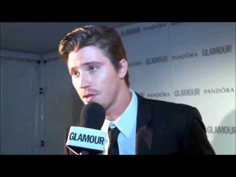 Garrett Hedlund  talks about Kristen Stewart at  UK Glamour Awards