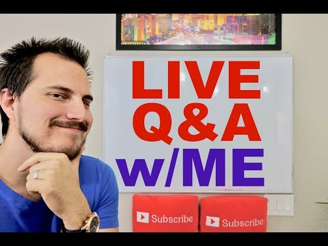Live 🔴 Stock Market and Passive Income Q&A 2018