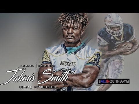 Jahmir Smith Is A Downhill Force: (2016 Lee County Football Highlights)