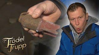 Ein Fall für die Polizei: Mörsergranaten-Fund auf der Burg | Der Trödeltrupp