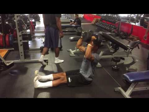 Z Press with Dumbbells