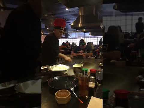 Houston Texas H B Japanese Steakhouse Sushi Hibachi Grill Youtube