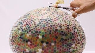 10K Orbeez Balloon Bomb Experiment