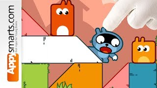 Pango Blocks Play Part 4 (Logic Puzzle Game for Kids) - more levels solved!