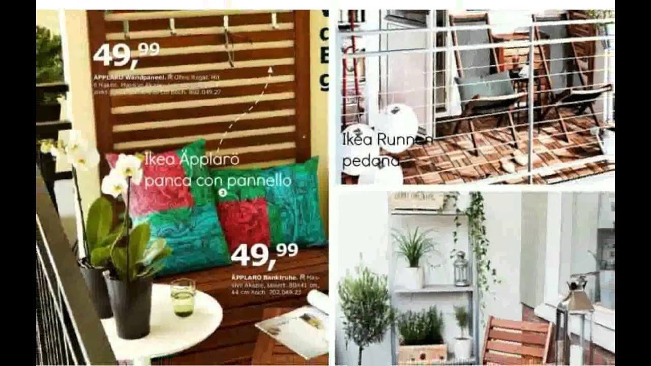 Arredamento balcone immagini youtube for Arredare terrazzi piccoli