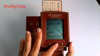 Scrabble Express Electronic 1999 Hasbro classic game toy