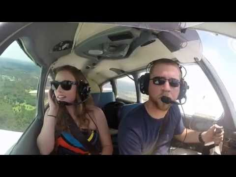 [2016-07-02|88H|In] Piper Warrior - First Flight as Private Pilot! Flying with the Family.