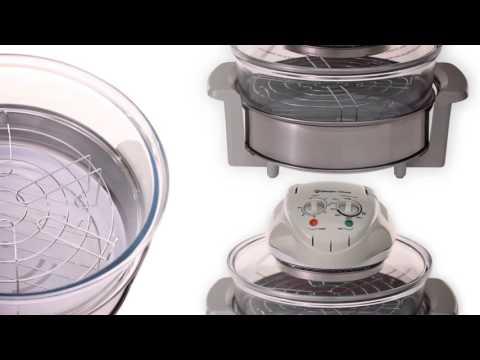 (EWGC12W3) Magic Chef Glass Bowl Convection Oven