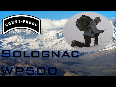 Grunt-Proof: The Best Winter Pants Anyone Can Afford! Solognac WP500 Trousers