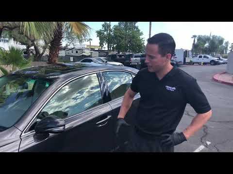 How to repair a broken Lexus IS Mirror – Highline Car Care