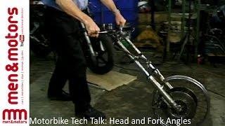 Motorbike Tech Talk: Head & Fork Angles