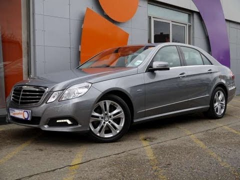 2009 mercedes benz e250 cdi blueefficiency avantgarde for sale in hampshire youtube. Black Bedroom Furniture Sets. Home Design Ideas