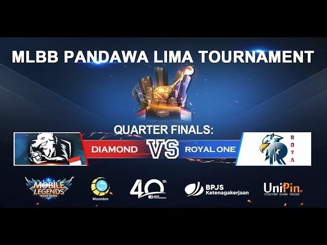 Pandawa Lima Tournament Quarter Finals: Diamond VS Royal One  v2