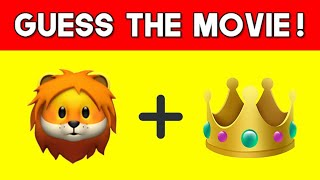 Can You Guess The ANIMATED MOVIE From The Emojis? | Emoji Puzzles