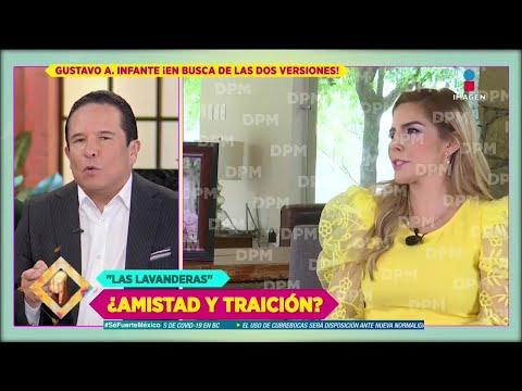 Karla Panini y Américo Garza con Gustavo Adolfo Infante: crónica de la polémica | De Primera Mano