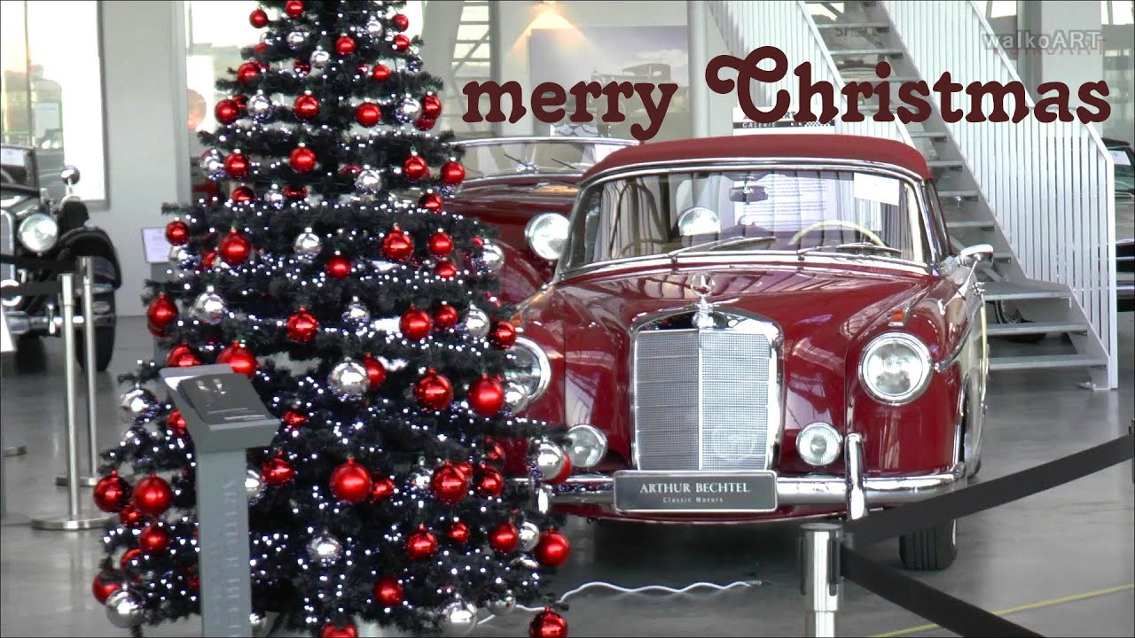 Merry Christmas Classic Cars